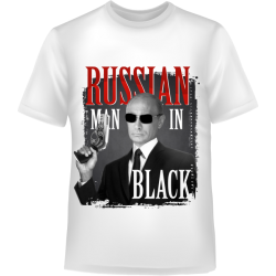 Путин RUSSIAN man in BLACK