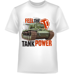 FEEL THE TANK POWER
