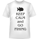 keep calm and go fihing